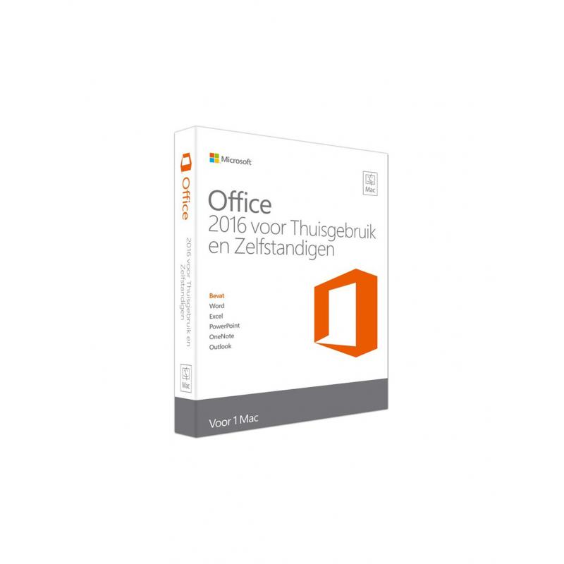Microsoft Office voor Mac 2016 voor Thuisgebruik & Zelfstandigen