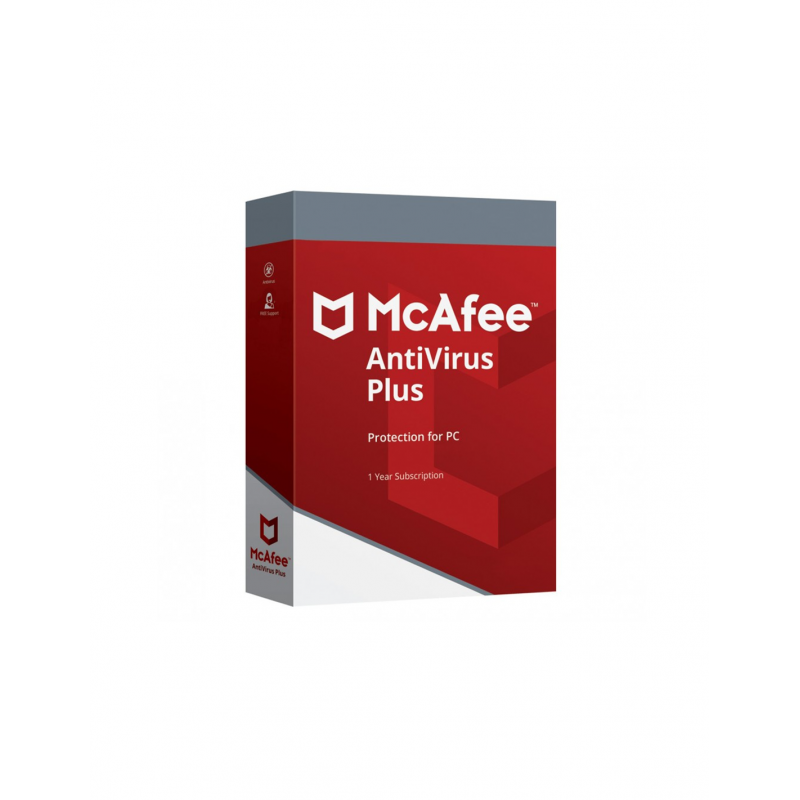 McAfee AntiVirus Plus 1 Jaar 1 PC