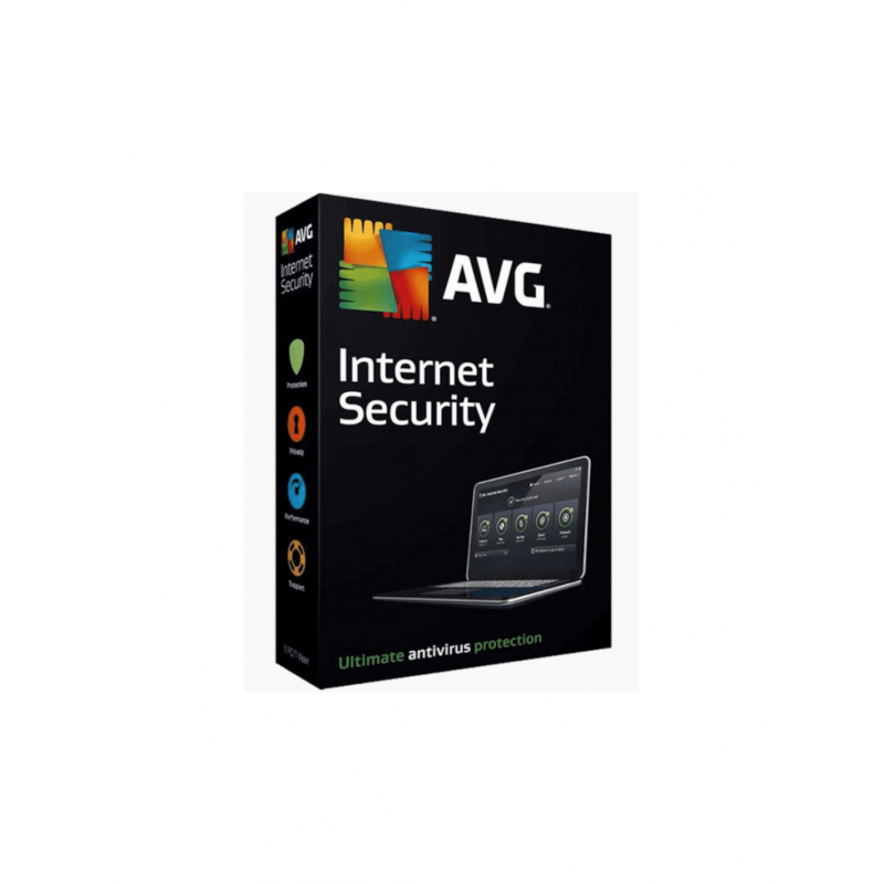 AVG Internet Security 2019 1 Jaar 1 PC